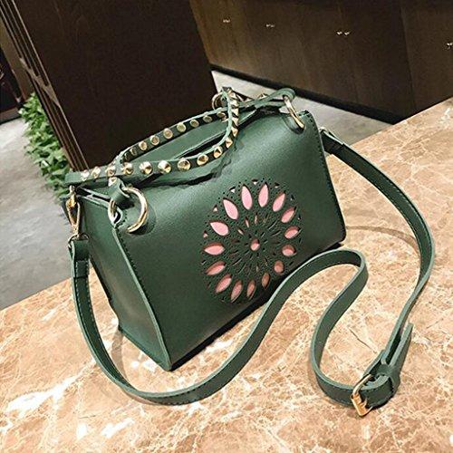 Del Salvaje Hombro Mujeres Creativa Liu Las Green Yu·casa Green La Bolsos color Personalidad Bolso Moda De Crossbody qdO4XxPOw8