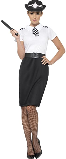 Ladies British Police Lady Woman Officer Uniform Cop Hen Night Party
