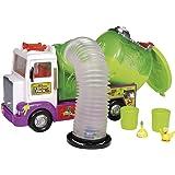 Trash Pack - 6618 - Accessoire Pour Figurine - Camion De Pompage Avec 2 Personnages