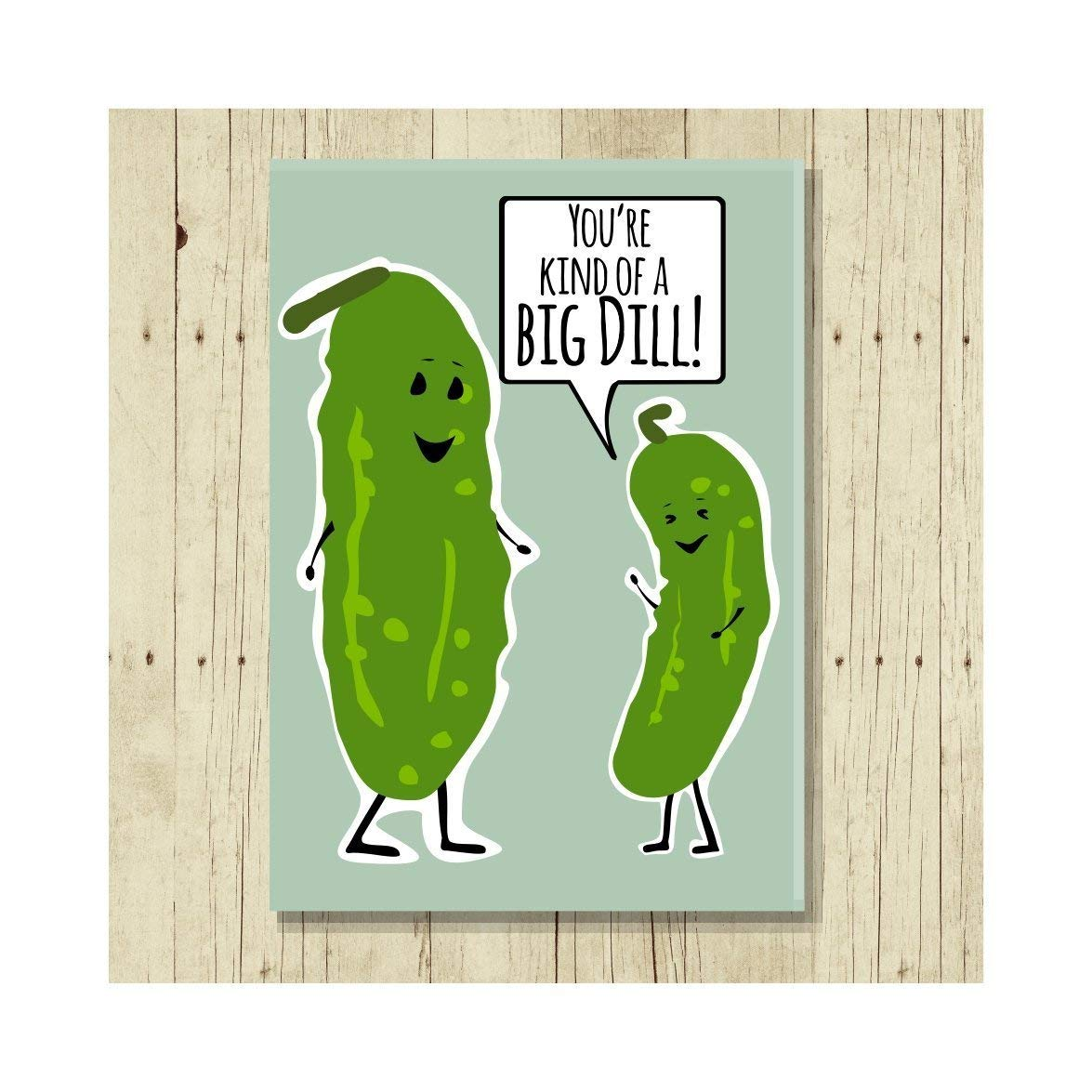 Give Peas a Chance Pun Magnet Big Size 2.5 x3.5