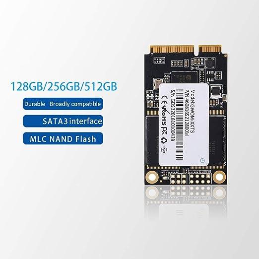 HWENJ SSD MSATA Unidad De Estado Sólido Interna Disco Duro De Alto ...