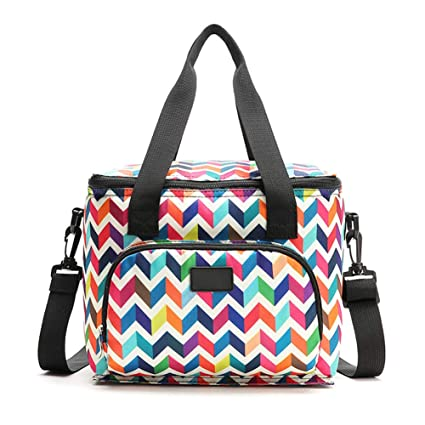 8d571fc06478 Amazon.com: Lunch Bag - Insulated Cooler Bag, Reusable Lunch Tote ...