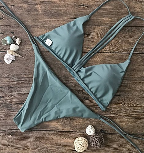 Bandage Maillots Maillot Corps bikini De Xwan Bikini Bain M Femme Solide Nouveau 6xvFIz