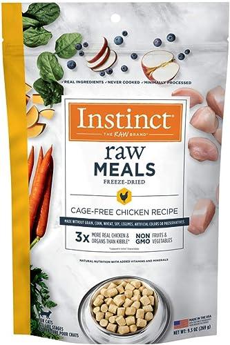Instinct Freeze-Dried Raw Meals Grain-Free Cage-Free Chicken Recipe Wet Cat Food