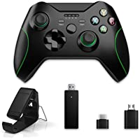 Controlador inalámbrico para Xbox One 2.4GHZ Controlador de juegos inalámbrico compatible con Xbox One, PS3, Windows 7/8…