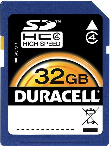 Duracell ProPhoto - Tarjeta de Memoria SDHC(32 GB, Clase 10 ...