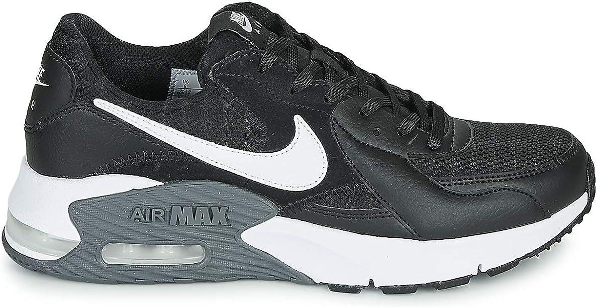 Nike Damen Air Max Excee Sneaker Black White Dark Grey
