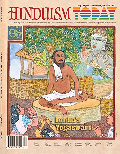 Hinduism Today Magazine: July-August-September 2014