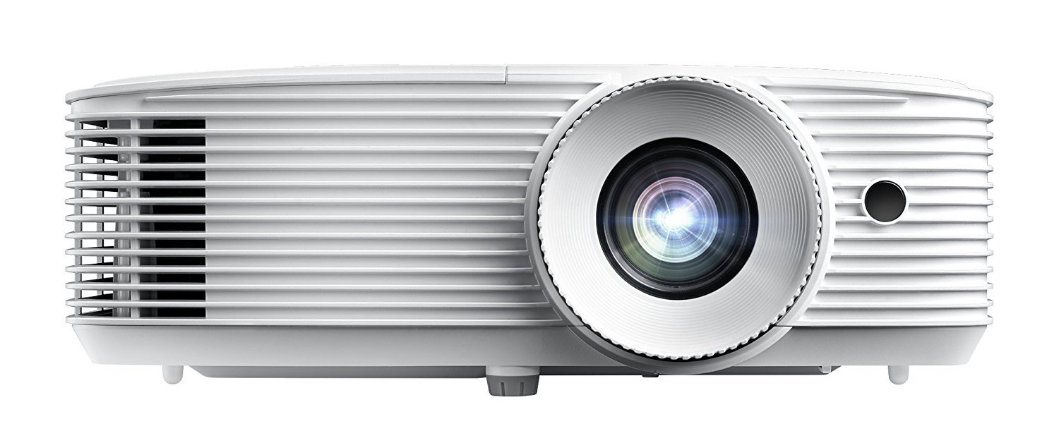 Optoma WU334 WUXGA High Brightness 3D DLP Office and Business Projector for meeting rooms and classrooms, Long 15,000h lamp life with bright 3,600 lumens for lights on viewing by Optoma