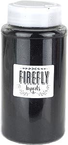 Homeford Firefly Imports Fine Glitter Arts and Crafts, 1-Pound Bulk, Black