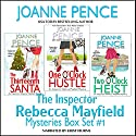 The Inspector Rebecca Mayfield Mysteries: Box Set 1: Thirteenth Santa, One O'Clock Hustle, Two O'Clock Heist Audiobook by Joanne Pence Narrated by Kristi Burns