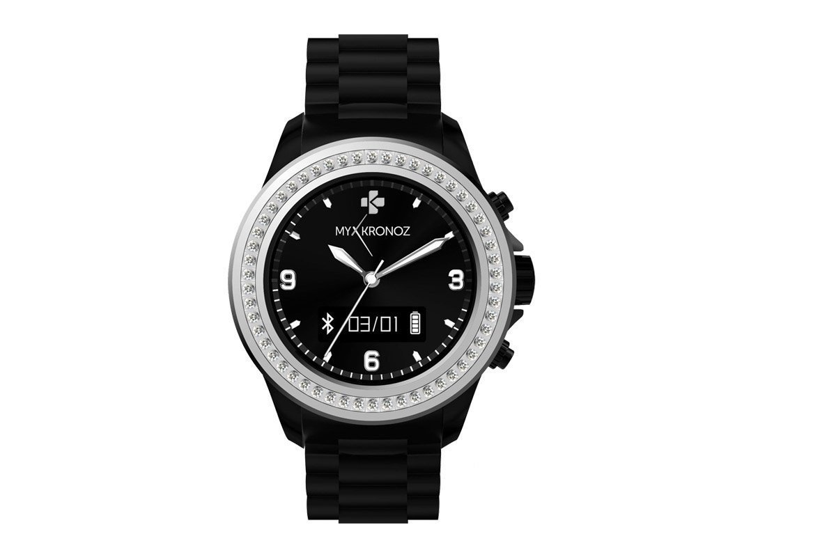 MyKronoz ZeClock OLED 65g Negro, Plata: Amazon.es: Electrónica