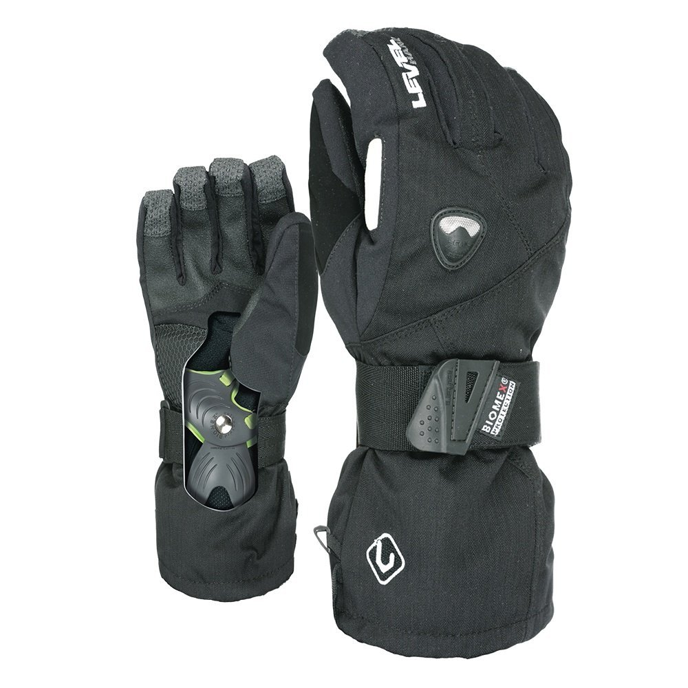 Level Men's Fly Glove, Black, X-Large by Level Gloves (Image #1)