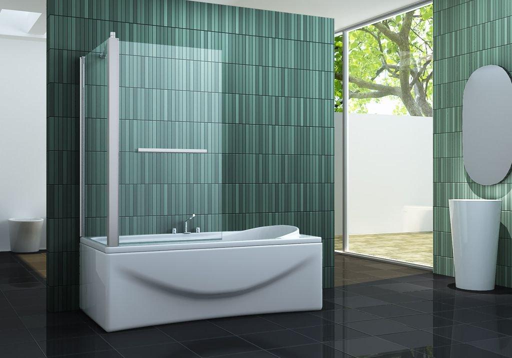 Interessant Eck-Duschtrennwand INTREXO 70 (Badewanne): Amazon.de: Baumarkt JD82