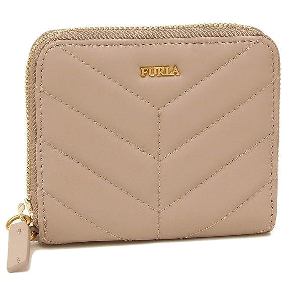 cd6fd69ae01f Amazon | [フルラ]折財布 レディース FURLA 993357 PAZ2 2Q0 TUK ベージュ [並行輸入品] | Furla(フルラ)  | 財布