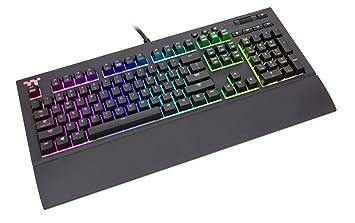 Thermaltake TT Premium X1 RGB Cherry MX Sliver - Teclado Gaming UK Layout (QWERTY)