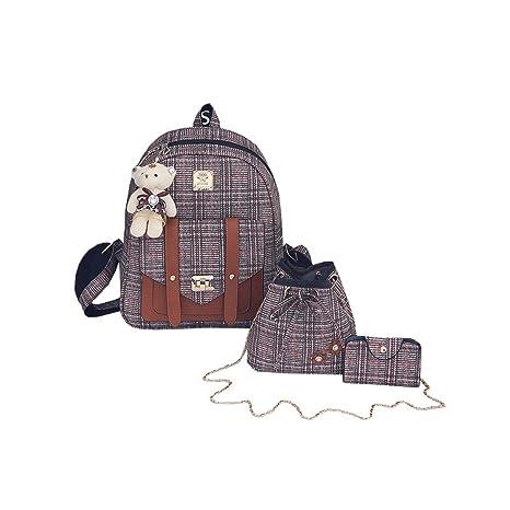 1f813c7c17 Skitor Donna Fashion Set Zaino Impermeabile Grandi Shopper Zaini ...