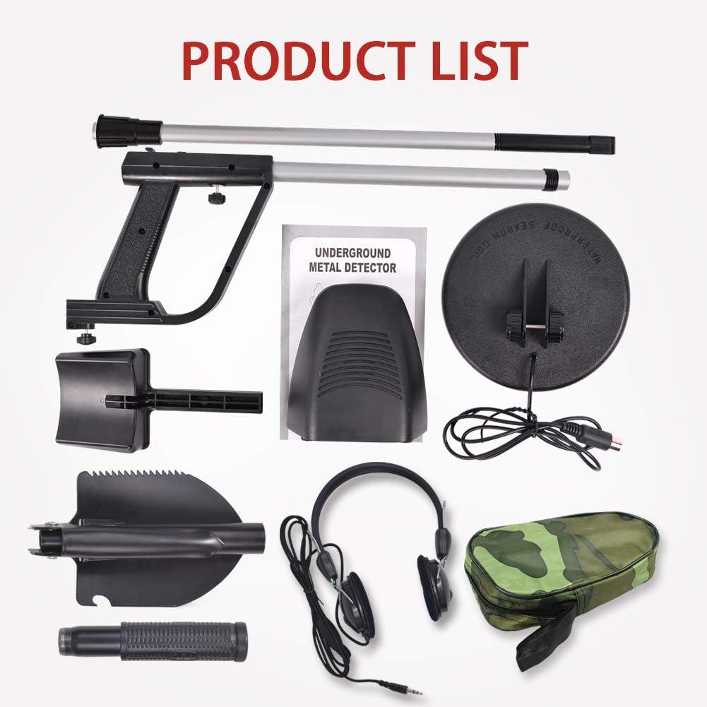 SurmountWay MD-4030 Pro Edition Hobby Explorer Waterproof Search Coil with shovel Metal Detectors