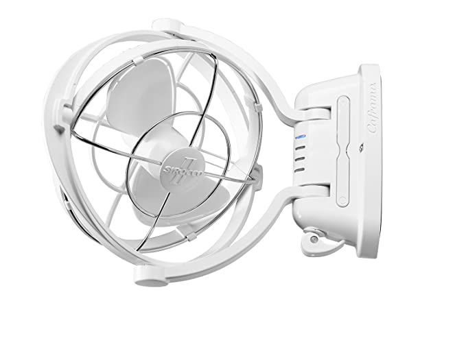 Amazon Com Caframo Sirocco Ii 1224v Gimbal Fan One Size White