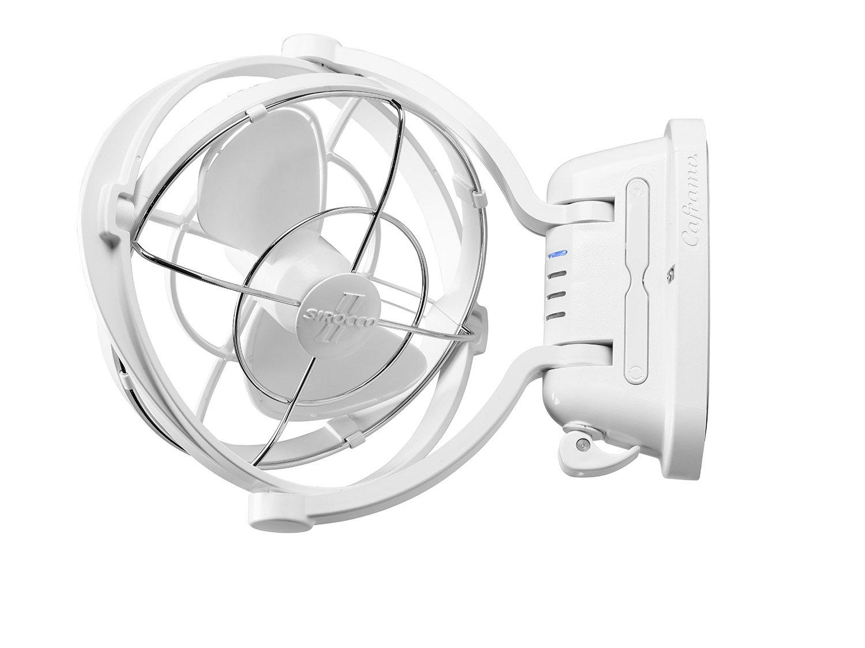Caframo Sirocco II 12/24V Gimbal Fan, One Size, White by Caframo Sirocco (Image #3)