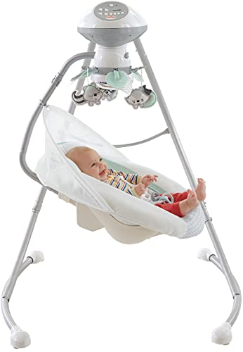 Fisher-Price-Moonlight-Meadow-Cradle'n-Swing