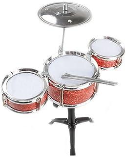 Homestoredirect Kids Childrens Desk Mini My First Drum Kit Set