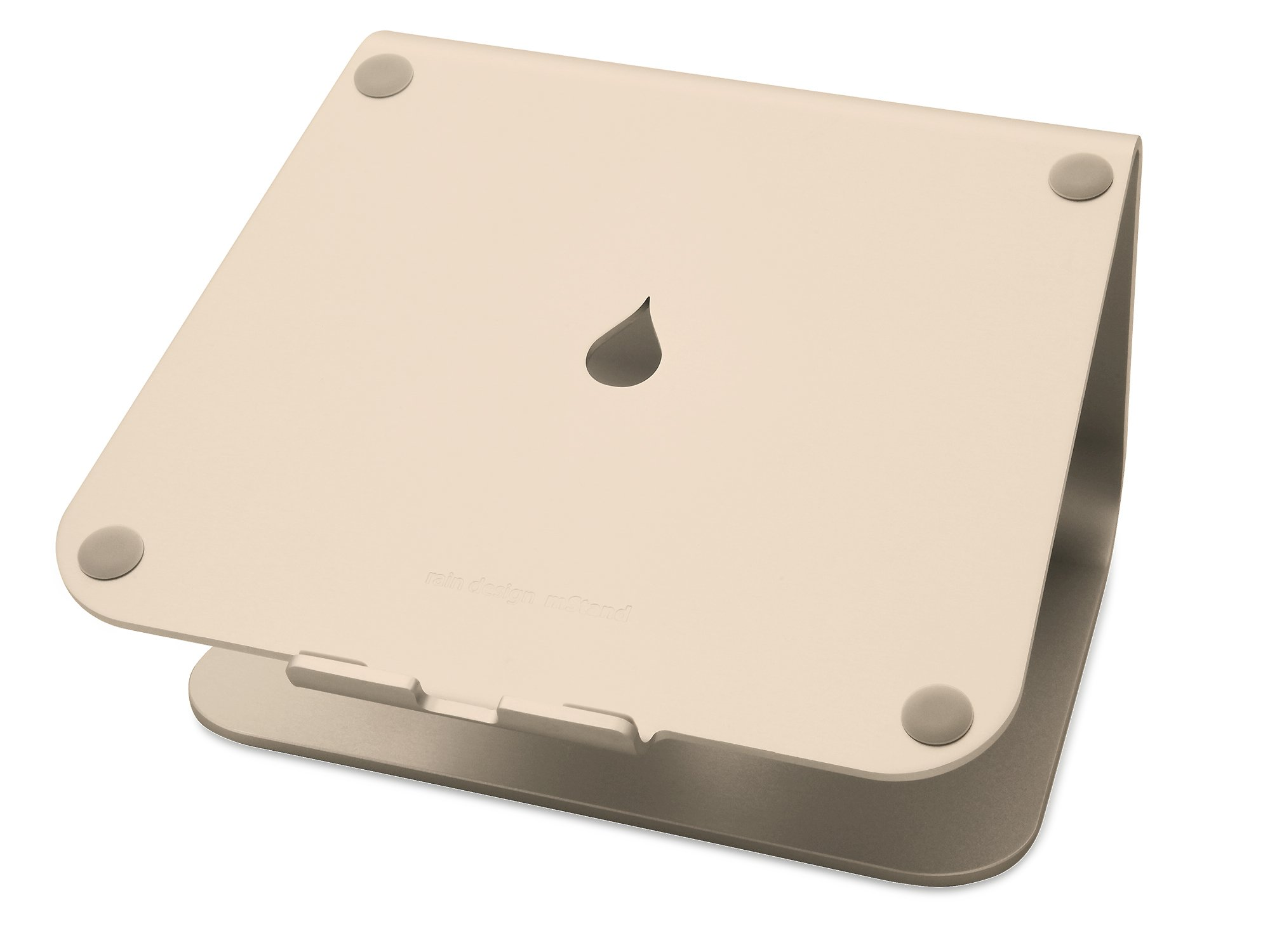 Rain Design mStand360 Laptop Stand with Swivel Base, Gold (Patented)