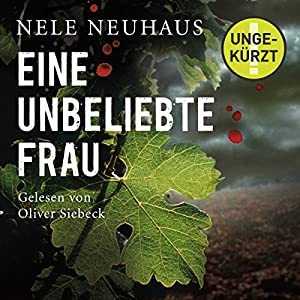 Eine unbeliebte Frau (Bodenstein & Kirchhoff 1) Audiobook
