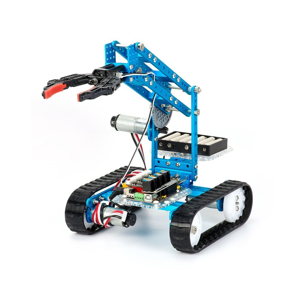 Makeblock DIY Ultimate 2.0 Robot Kit - Premium Quality - 10-in-1 Robot - STEM Education - Arduino - Scratch 2.0 - Programmable Robot Kit for Kids to Learn Coding, Robotics, Electronics and Have Fun by Makeblock
