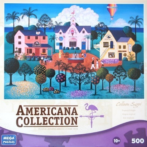 AMERICANA COLLECTION Tropical Delight by Colleen Sgroi 500 Piece Puzzle