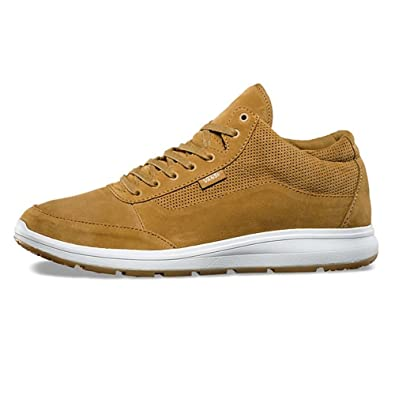 e032e50bdfec62 Vans Style 201 Perf Medal Bronze True White Perforated Suede Athletic  Running Skateboarding Shoes (9.5