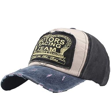 DEELIN Sombrero para Mujeres Hombres Motores TACING Equipo ...