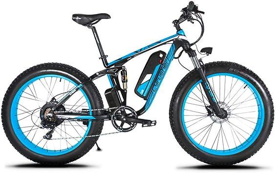 Extrbici eléctrica Bicicleta para Hombres 1000W 48V 26 Pulgadas ...