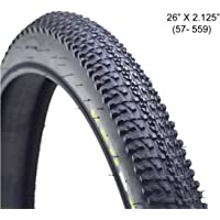 """Schrodinger15 40050 Generic Nylon Tyre Tire 26"""" x 2.125"""" Mountain MTB Bicycle Cycle 60 psi - Made in China"""