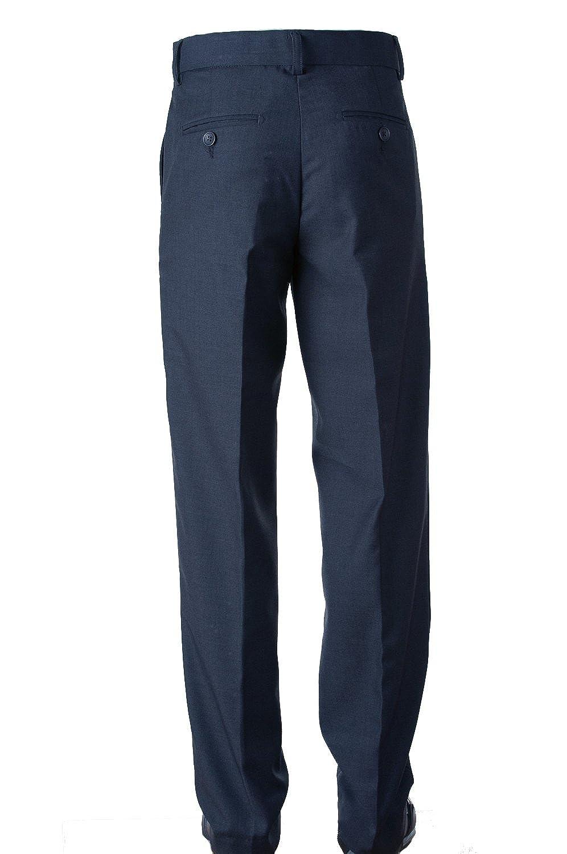 Tuxgear Fouger Boys Slim Navy Blue Dress Pants