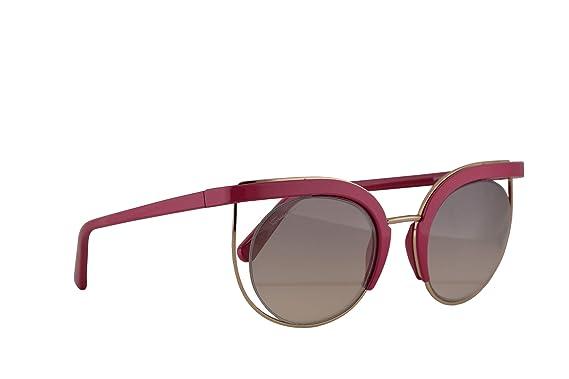 Salvatore Ferragamo SF909S gafas de sol w/Gris Espejo lente ...