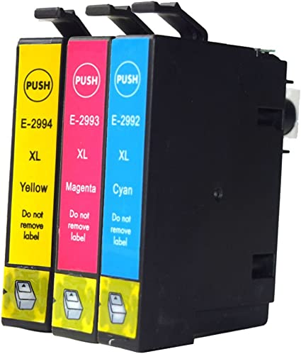 caidi 3 Pack Compatible de repuesto para EPSON 29 x l cartuchos de tinta compatible con Epson Expression Home xp-342 xp-245 xp-442 XP-235 XP-335 XP-432 XP-435 XP-332 xp-345 xp-247 xp-445 impresora: Amazon.es: