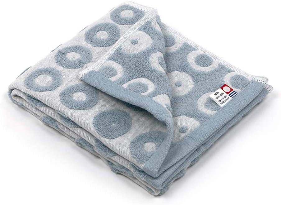 Imabari Iori Doughnuts Blue Face Towel