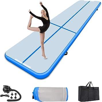 3M 4M 6M 10cm 20cm Turnmatte Air Tumbling Track Aufblasbare Matte Gymnastikmatte