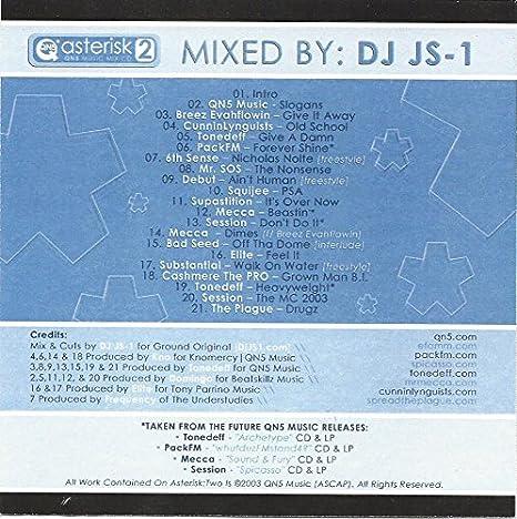DJ JS-1: Asterisk 2 CD - Amazon com Music