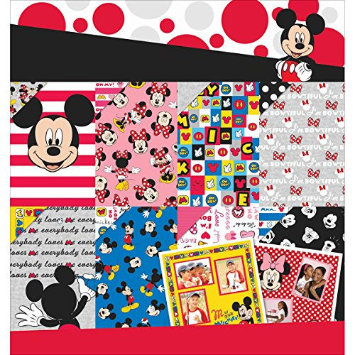 EK Success EK 12x12 Mickey Friends Disney Paper Pad MickeyFriend