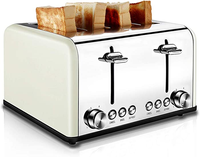 Top 10 4 Slice Toaster Cream Colored