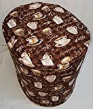 Coffee Theme Food Processor Cover (All Brown Coffee, Large) Review