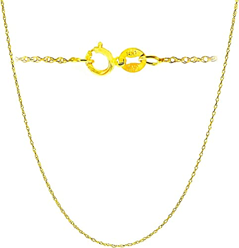 """18/"""" Sterling Silver Necklace Shiny Italian Rope Chain Pure 925 Italy Wholesale"""