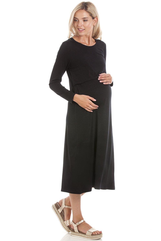 Central Chic Maternity Breastfeeding Nursing Dresses in M, L, XL, XXL