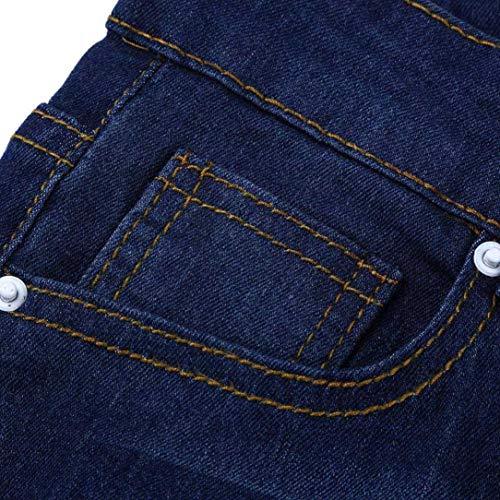 Jean Jeans Uni Holywin Femme Bleu q50FA8x5ng