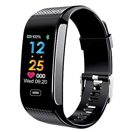 Amazon.com: CK18S Heart Rate Smart Watch with Sleepping ...