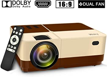 Wsky Full HD 1080p LED Portable Projector