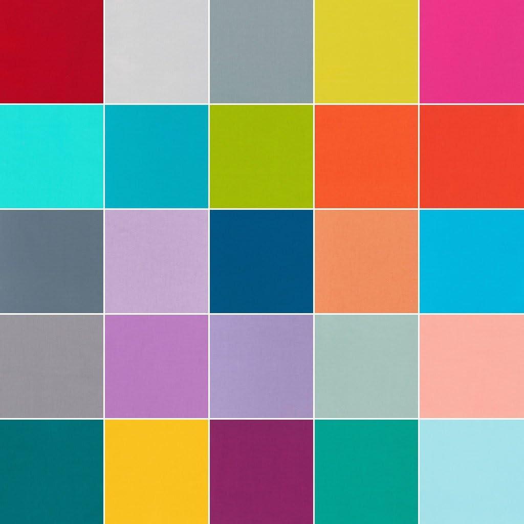 Kona Cotton Solids Elizabeth Hartman Designer Palette 25 Fat Quarter Bundle Robert Kaufman Fabrics FQ-796-25