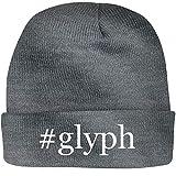 SHIRT ME UP #Glyph - A Nice Hashtag Beanie Cap, Grey, OSFA